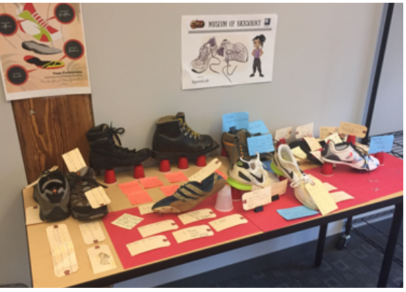 shoe design table