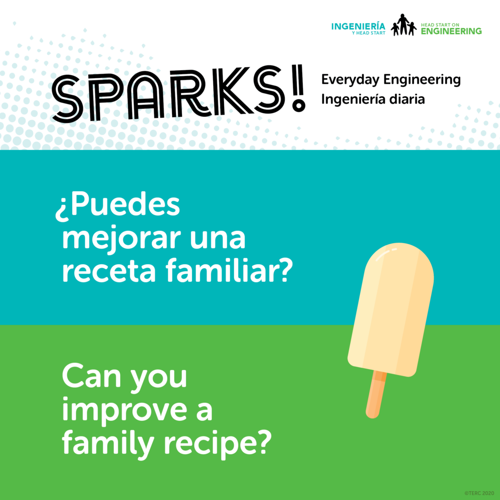 Family Recipe Everyday Engineering Activity Image