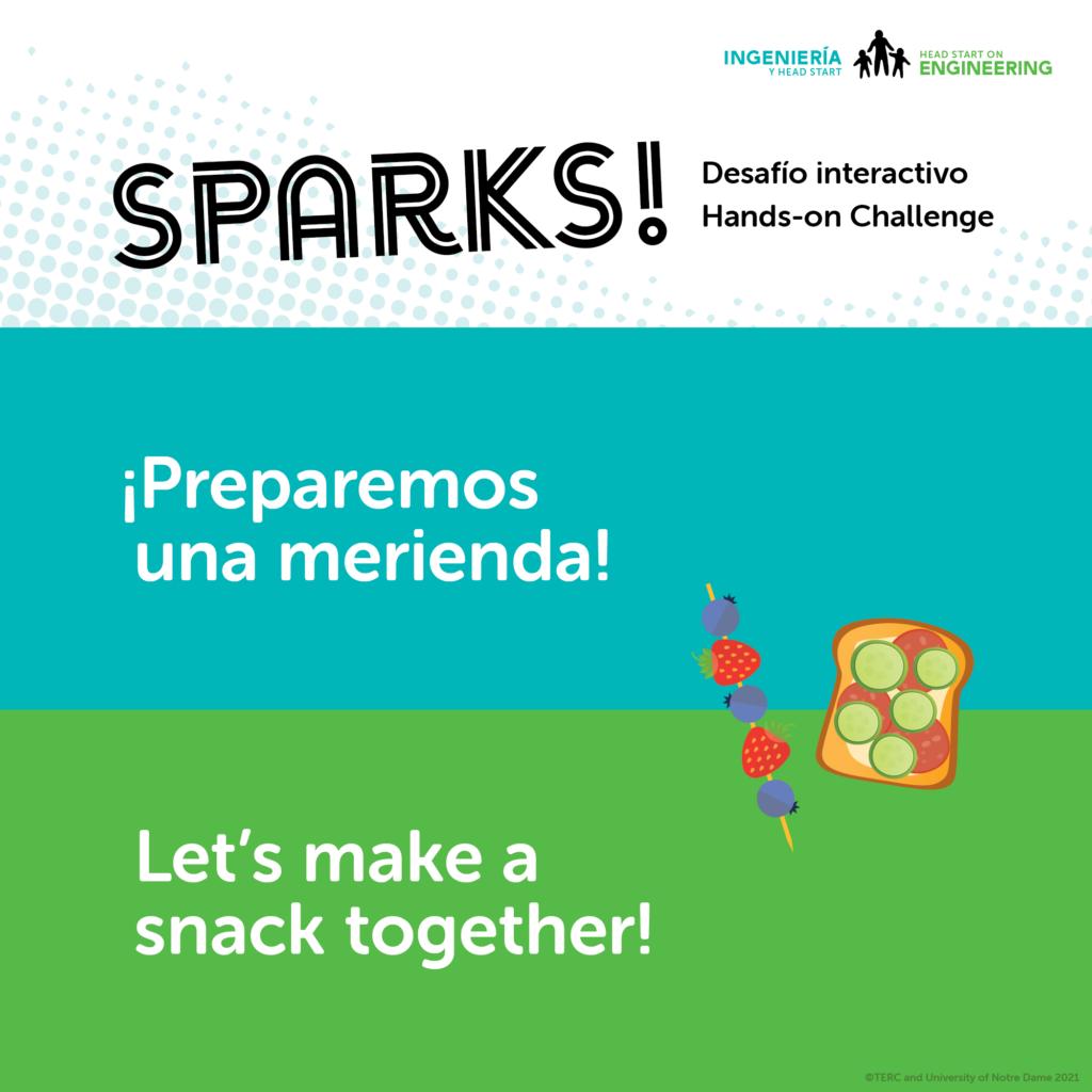 Make a Snack Activity Challenge Image