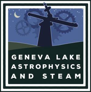 GLAS Education (Geneva Lake Astrophysics & STEAM) Logo