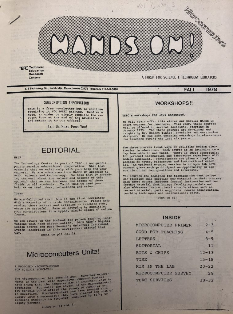 First <i>Hands On!</i> Magazine published