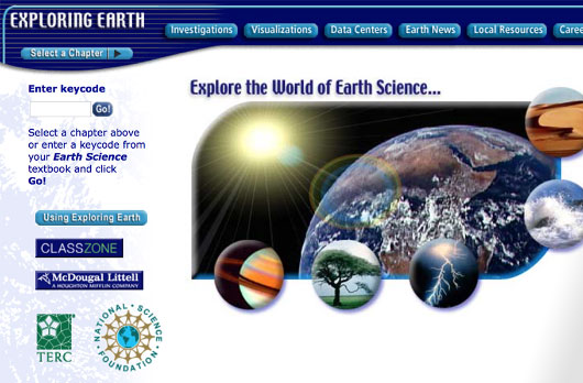 Exploring Earth Online Curriculum
