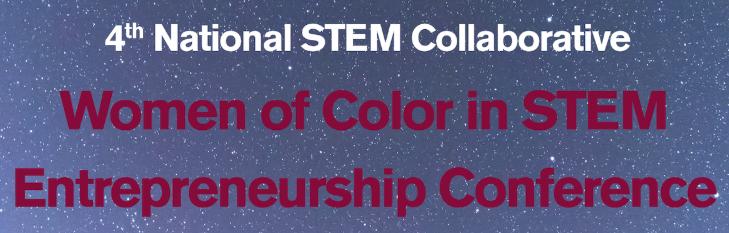 women of color in STEM logo