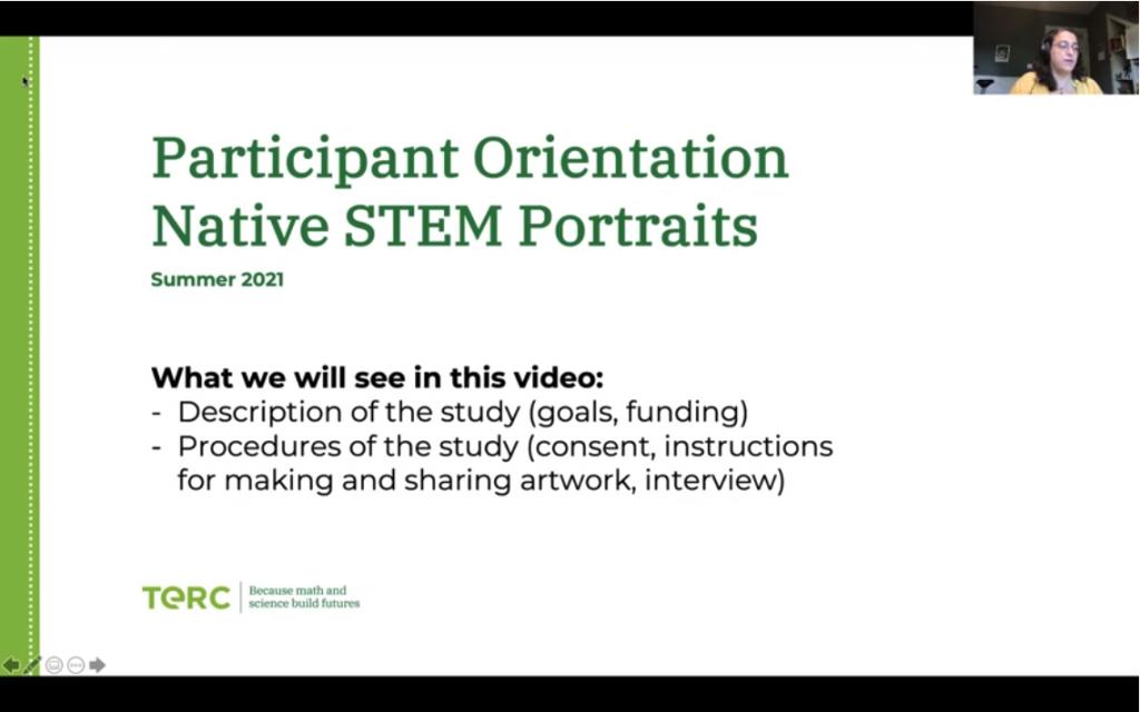 First slide of NSP presentation