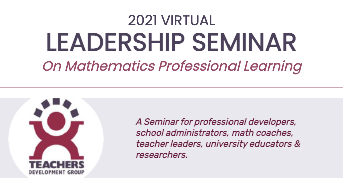 Leadership Seminar on Mathematics Professional Learning logo image