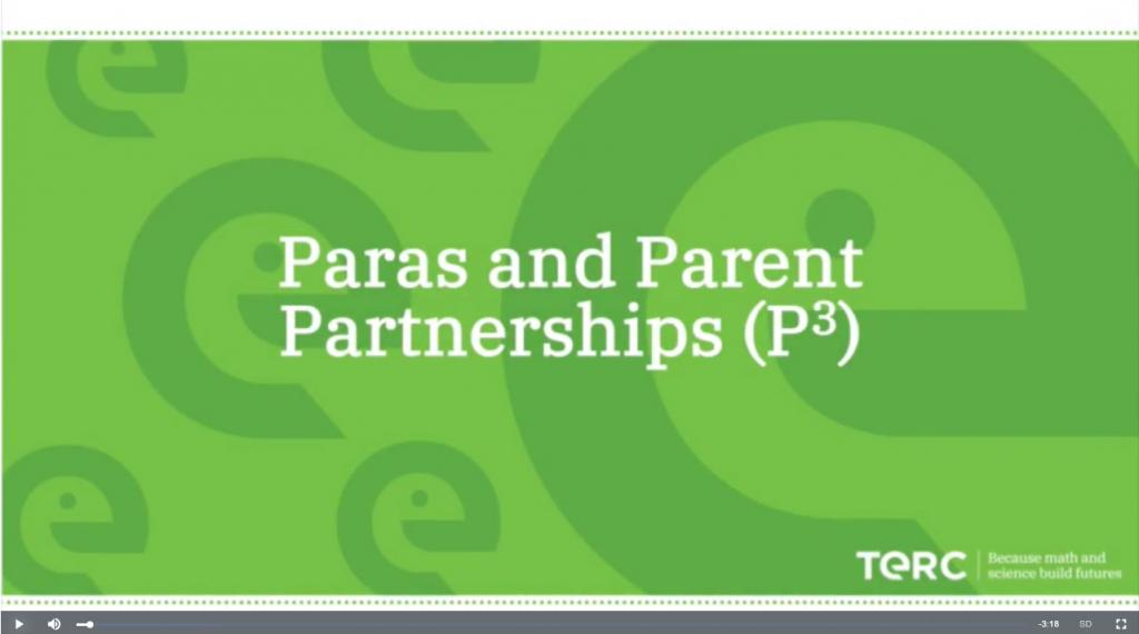 Para and Parents Partnerships Video Image 2